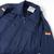 German Military Navy Blue Deck Jacket, Zip front and Zip pockets,Good Graded